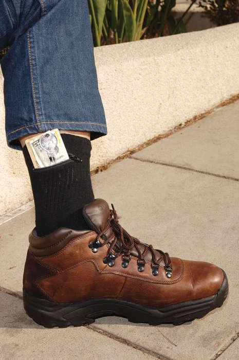 Pocket-Concealing Hosiery