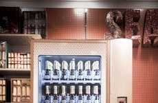 Champagne Vending Machines - Moet & Chandon Unveil Their Champagne Dispenser for Christmas