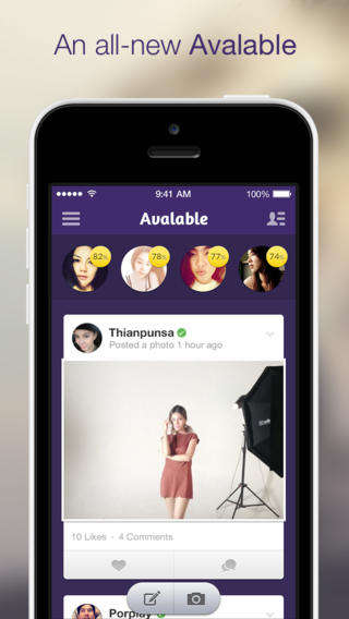 Social Dating Apps - The 'Avalable' Dating App is Like a Social Network for Those Looking for Love