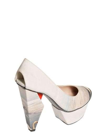 Elegant Geometric Footwear