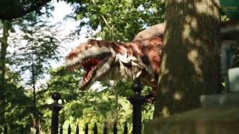 Prehistoric Film-Inspired Pranks