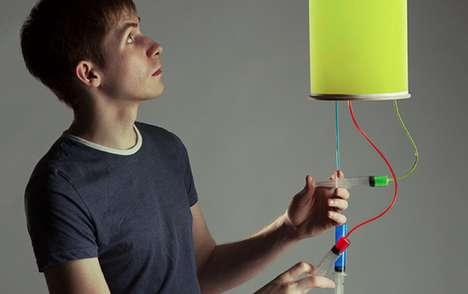 Syringe-Controlled Lights
