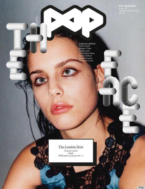Cross-Eyed Model Editorials