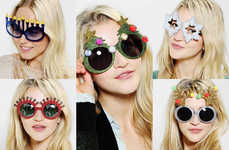 Kooky Christmas Glasses