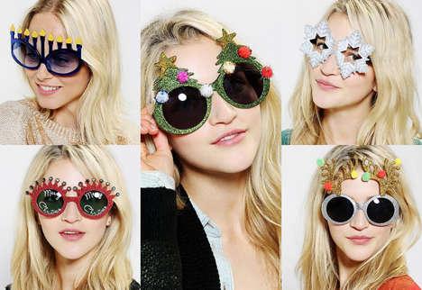 Kooky Christmas Glasses
