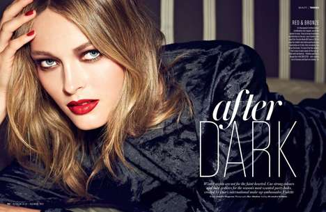 After Dark Beauty Editorials