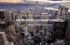 Crowdsourced Wish-Granting Services - Crowdwish Helps to Grant Wishes Like a Virtual Genie