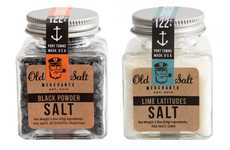 Old-Time Maritime Marketing - Old Salt Merchants Packaging Embodies a Charming Apothecary Image