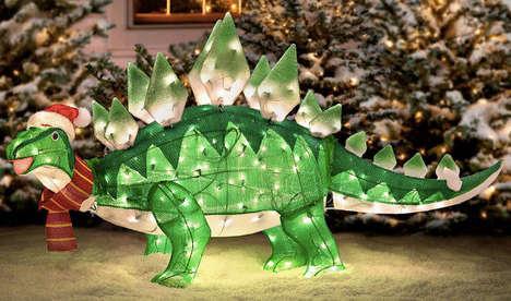 Prehistoric Christmas Decor