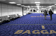 LED-Embedded Rugs - Light Transmissive Carpets by Philips Provide Illuminated Guidance on Floor