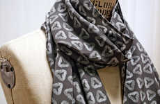 Biology-Inspired Scarves