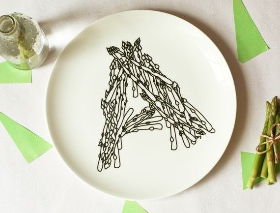 14 Typographic Dishware Designs
