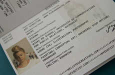 Passport-Inspired Resumes - Art Student Miruna Macri Deliberately Loses Fake Passports to Find a Job