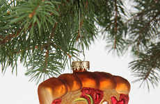 Iconic Italian Food Ornaments