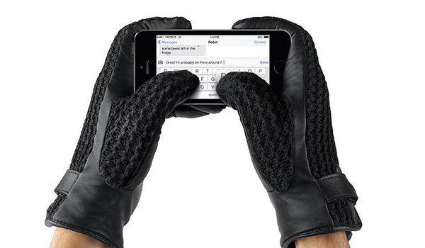 62 Tech-Friendly Gloves