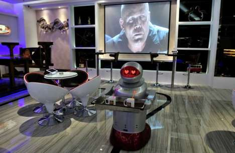 Robot-Operated Accomodations - This Sci-fi Hotel is Run Mostly by Machines