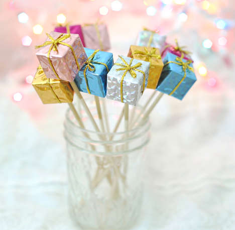 Pretty Present Stirrers