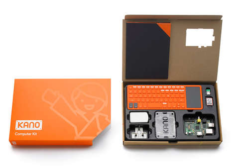 DIY Computer Kits - The Kano Computer Can Be Built By Almost Anybody