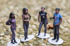 Three-Dimensional Selfie Services - 3D Mini Me Figurines Let You Turn Yourself into a Collectible
