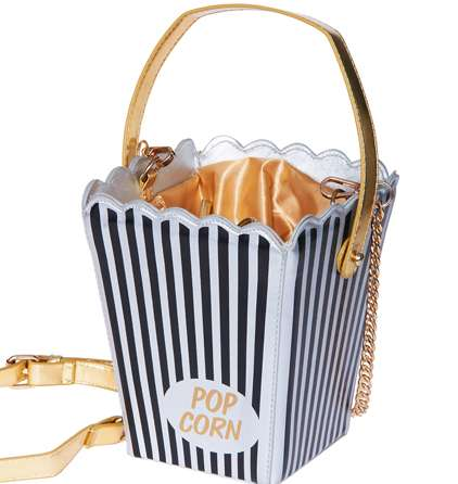 Cinematic Popcorn Box Purses