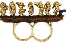 Disney Dwarf Rings - This Disney Jewelry from 'Romwe' Shows the Adorable Characters in B