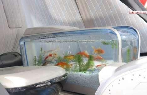 Built-In Aquarium Automobiles