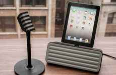 App-Inspired Karaoke Systems - The StarMaker Bluetooth Karaoke System by Philips Raises the Bar