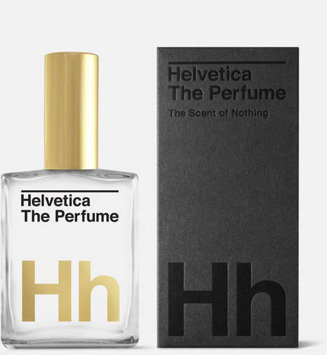 Neutral Font Fragrances - The Guts and Glory Helvetica Perfume Does Not Smell Like Anything