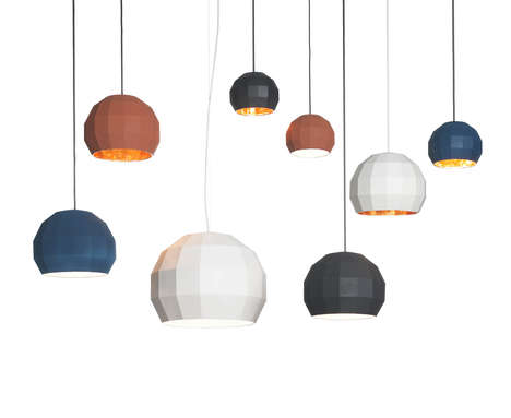 Disco Ball-Inspired Lamps
