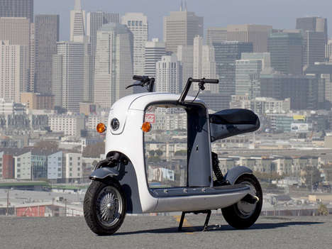 Freight-Focused Scooter Concepts