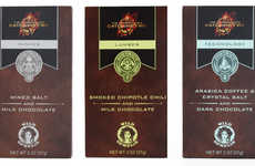 Dystopian Competition Chocolate Bars - Vosges' Hunger Games Chocolate Features the 12 Districts