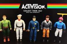 8-Bit Action Figures - Dan Polydoris' Atari 2600 Action Figures Pay Tribute to Retro Console Games