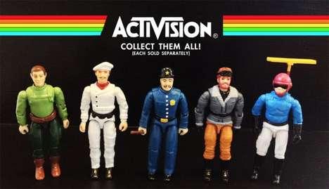 8-Bit Action Figures