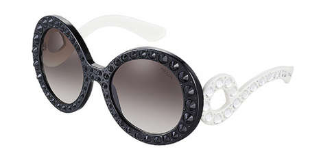 Crystal-Embedded Eyewear Collections