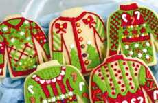 Ugly Sweater Snacks - These 'Tasteless Biscuits' are Decorated to Look Like Holiday Sweaters
