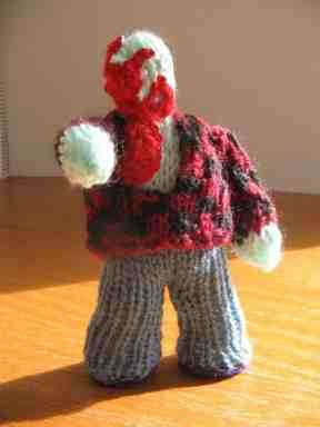Knitted Zombies - Crafts Get Creepy