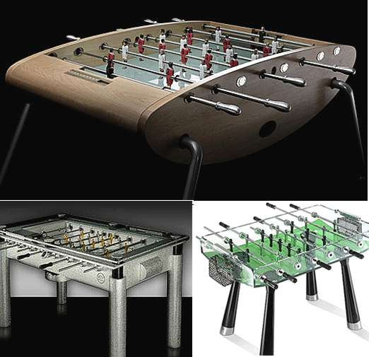 33 Funky Foosball Tables