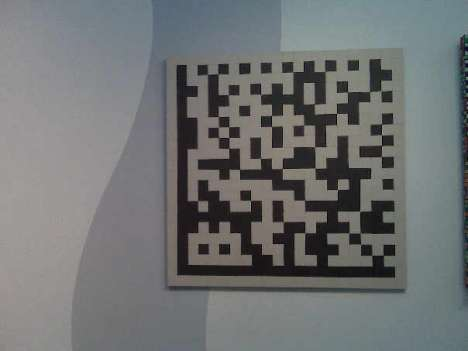 QR Code Art - 'Space Invader' Makes Street Art With Digital Codes