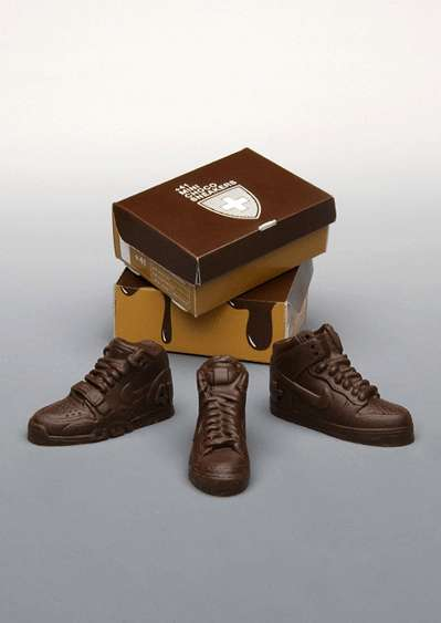 Chocolate Trainers