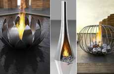 Luxury Fire Sculptures