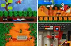 Lego Video Games - Virtual Worlds Recreated With Lego