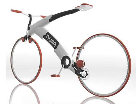 3893e70529f Chainless Bicycles: Nulla Minimalist Bike