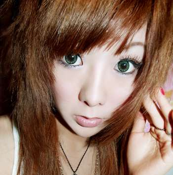 Anime Accessories - Extra Large Contact Lenses For Cartoon-Style Eyes