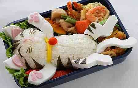 Japanese Lunch Art