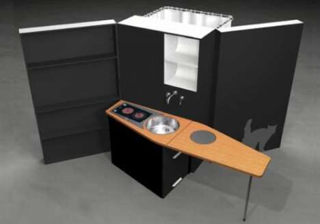 Mobile All In One Kitchens and Bathrooms - The Woonbox