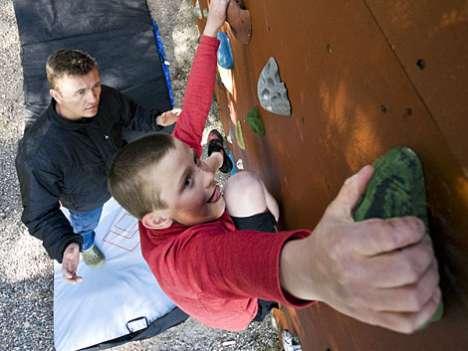 6 Cool Rock Climbing Trends + DIY Climbing Walls
