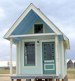 95% Recycled Architecture - Tiny Texas Houses