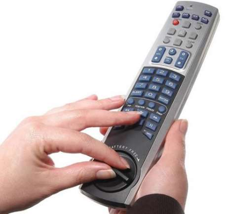 Eco-Friendly Universal Remote Controls - The Wind-Up Remote