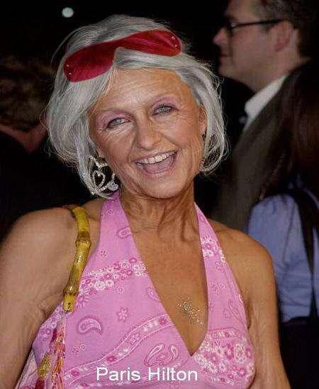 Digitally Aged Celebrities