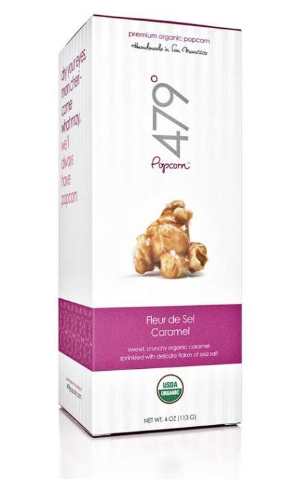 Eco Chic Organic Snack Food - 479° Popcorn